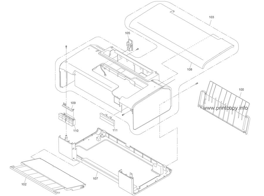Parts Catalog > Epson > Stylus D120 > page 1