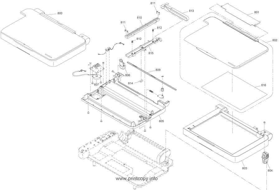 Parts Catalog > Epson > Stylus CX3810 > page 3