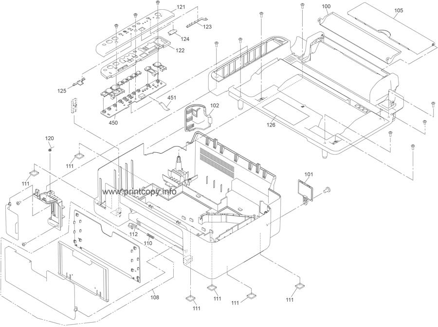 Parts Catalog > Epson > Stylus CX4800 > page 1