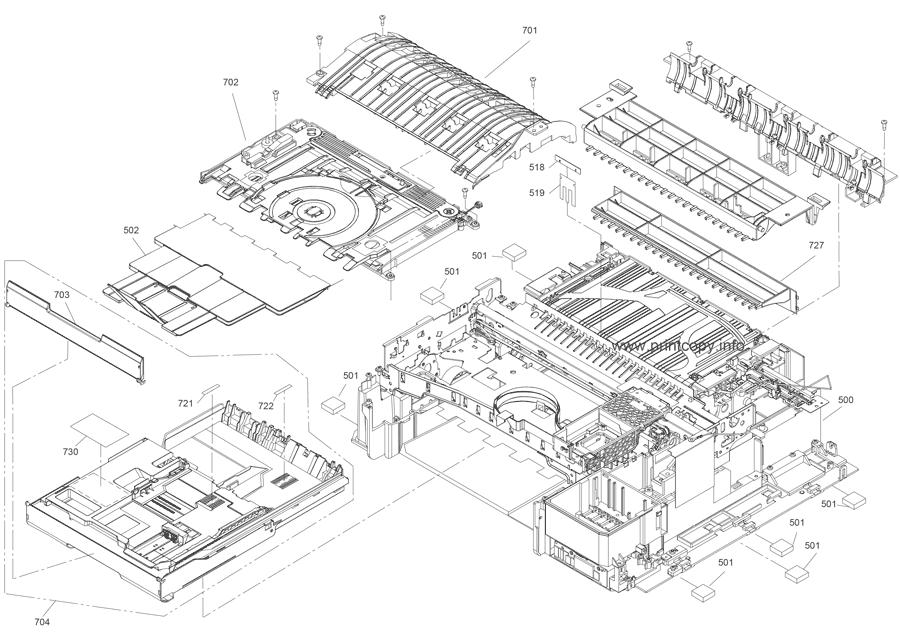 Parts Catalog > Epson > Stylus PX700FW > page 4