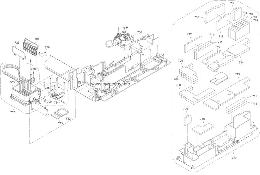 Parts Catalog > Epson > Stylus PX700FW > page 6