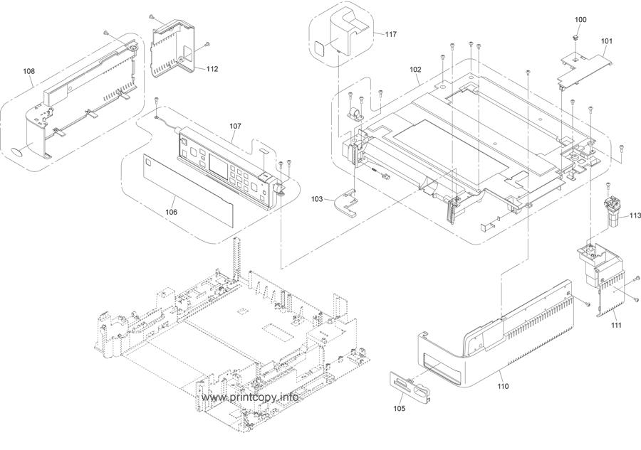 Parts Catalog > Epson > Artisan 725 > page 1