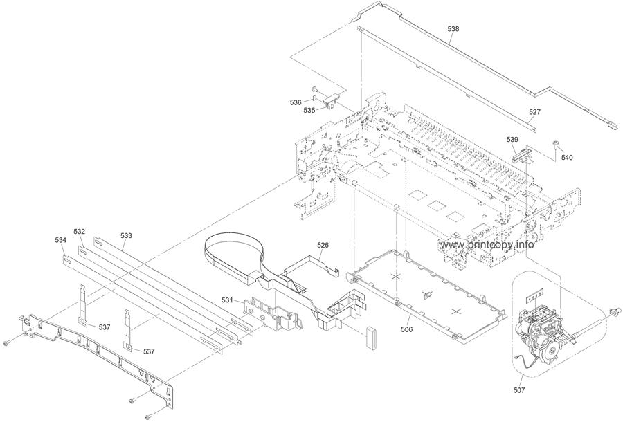Parts Catalog > Epson > Artisan 835 > page 7