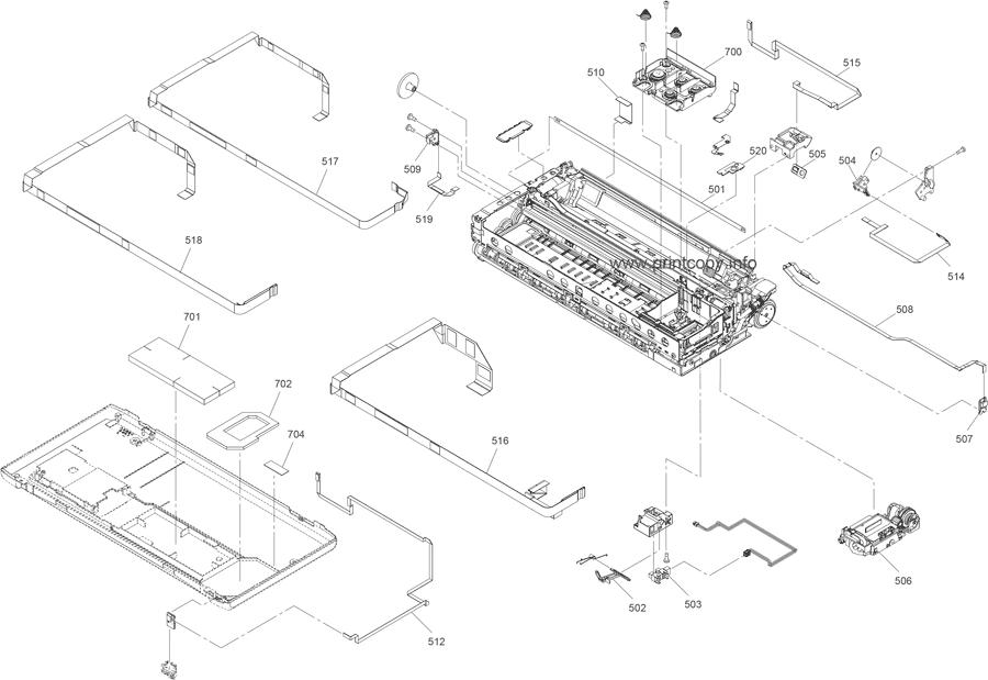 Parts Catalog > Epson > WorkForce WF100 > page 3