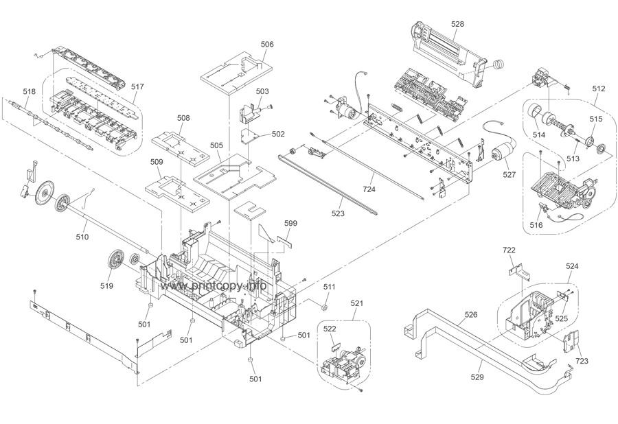 Parts Catalog > Epson > Stylus Office BX305FW > page 4