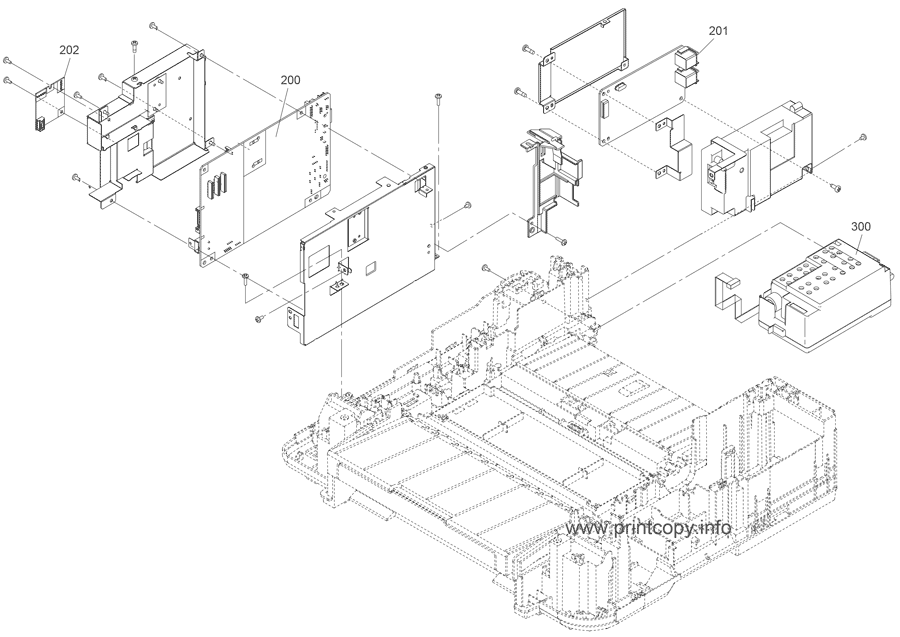 Parts Catalog > Epson > PXM740F > page 2