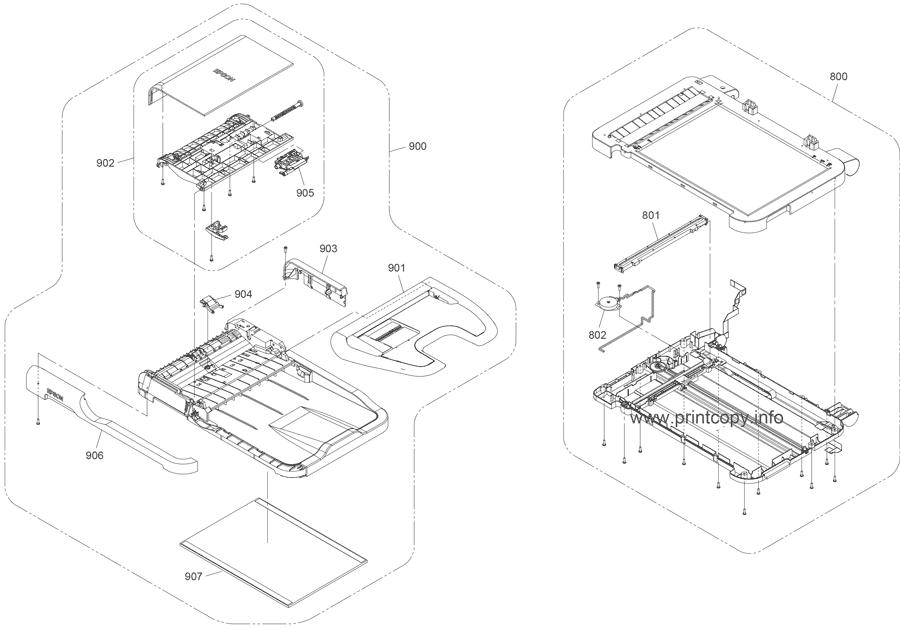 Parts Catalog > Epson > WorkForce WF3620 > page 4