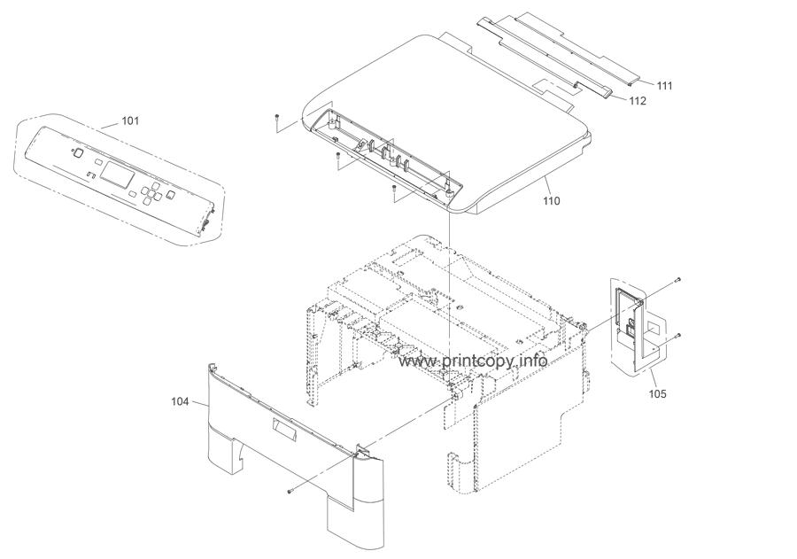 Parts Catalog > Epson > WorkForce WF5110 > page 1