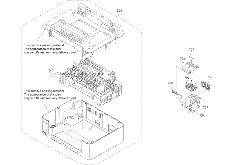 Parts Catalog > Epson > Stylus Office TX600FW > page 4