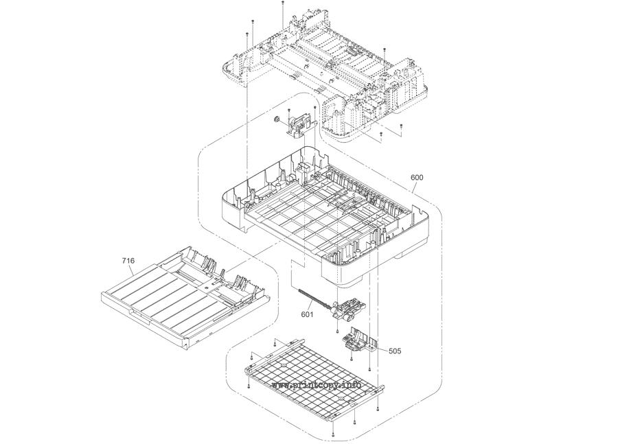 Parts Catalog > Epson > WorkForce WF7525 > page 1