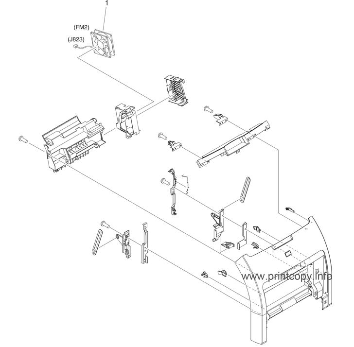 Parts Catalog > HP > Color LaserJet 3800 > page 4