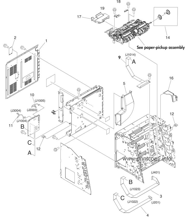 Parts Catalog > HP > Color LaserJet 3600 > page 9
