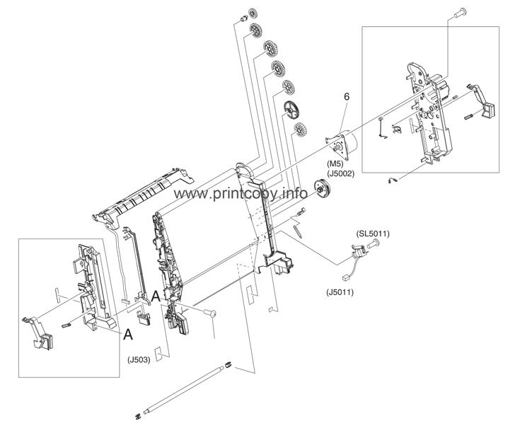 Parts Catalog > HP > Color LaserJet 3800 > page 18