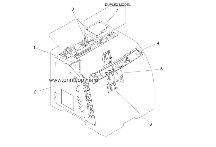 Parts Catalog > HP > Color LaserJet 3600 > page 23