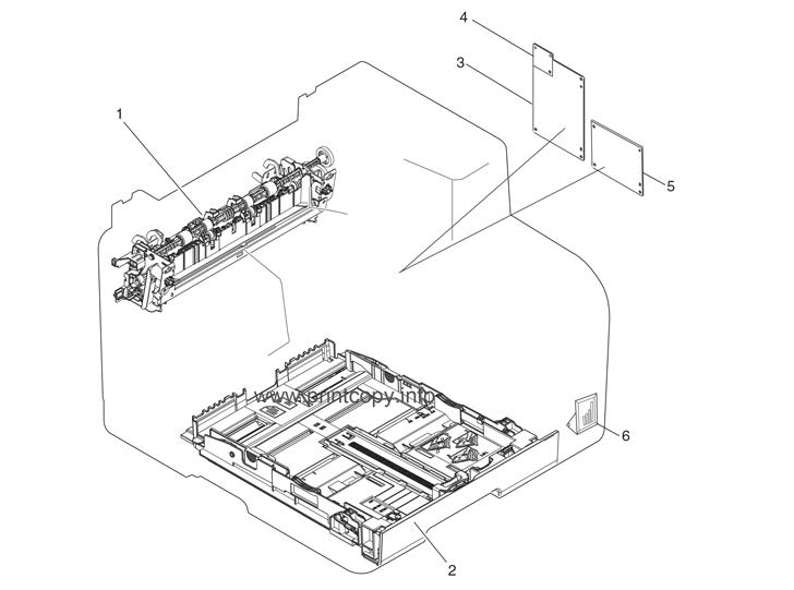 Parts Catalog > HP > Color LaserJet CM1312nfi MFP > page 3