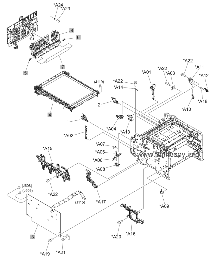 Parts Catalog > HP > LaserJet Pro CM1415 Color MFP > page 4