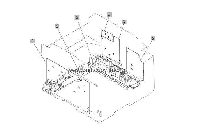 Parts Catalog > HP > Color LaserJet CM1415 MFP Pro > page 6