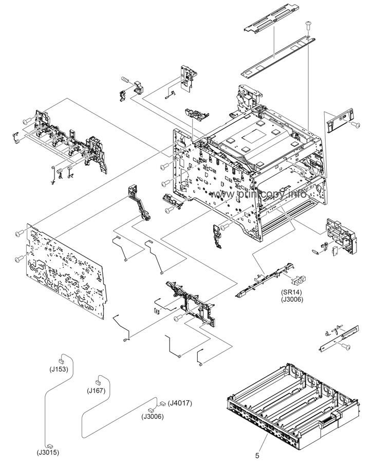 Parts Catalog > HP > Color LaserJet CM2320 MFP > page 4