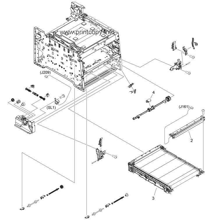 Parts Catalog > HP > Color LaserJet CM2320 MFP > page 5