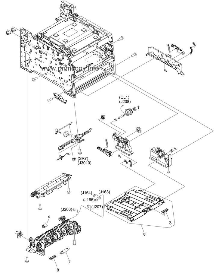 Parts Catalog > HP > Color LaserJet CM2320 MFP > page 6
