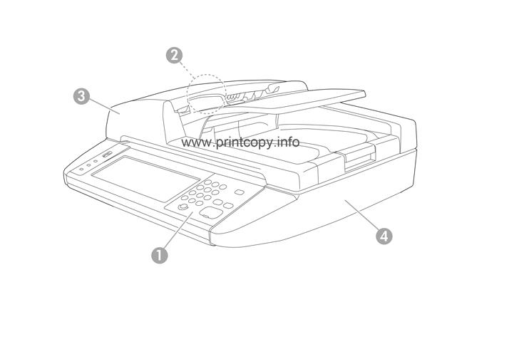 Parts Catalog > HP > Color LaserJet CM3530 MFP > page 1