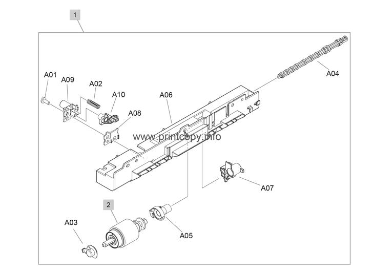 Parts Catalog > HP > Color LaserJet CM3530 MFP > page 11