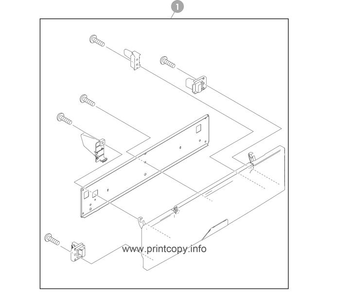 Parts Catalog > HP > Color LaserJet CM4730 MFP > page 4