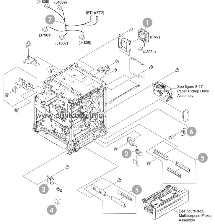 Parts Catalog > HP > Color LaserJet CM4730 MFP > page 12