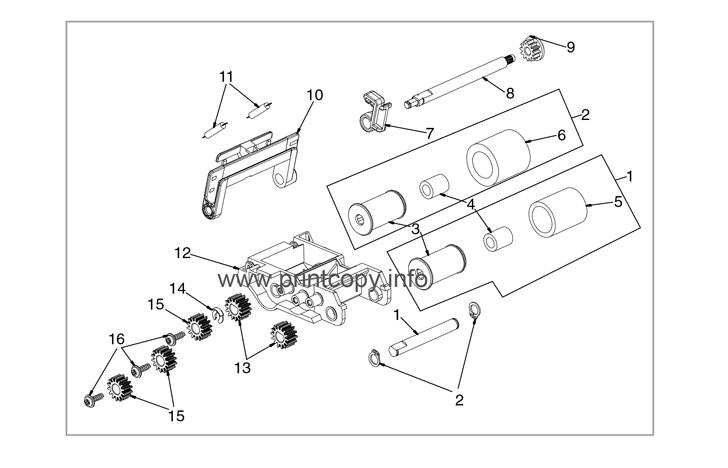 Parts Catalog > HP > Color LaserJet CM6040 MFP > page 79