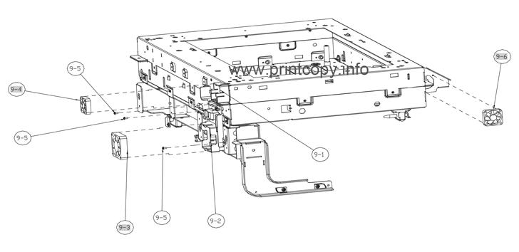 Parts Catalog > HP > Color LaserJet CM6040 MFP > page 99