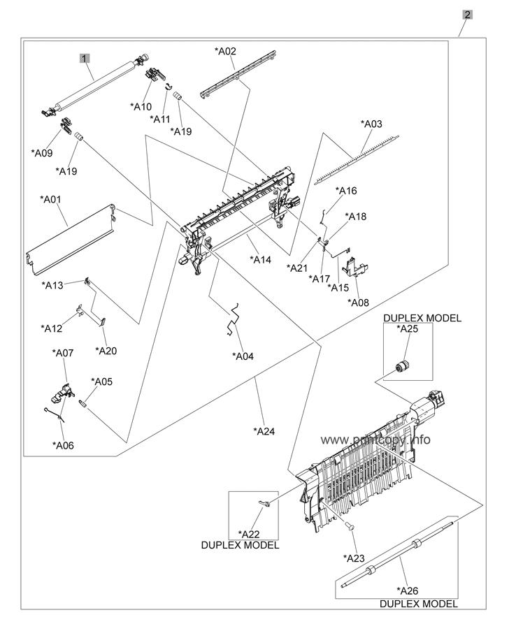 Parts Catalog > HP > Color LaserJet CP4525dn Enterprise