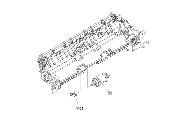 Parts Catalog > HP > Color LaserJet CP5525dn Enterprise