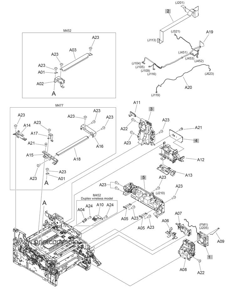 Parts Catalog > HP > Color LaserJet Pro MFP M477 > page 5