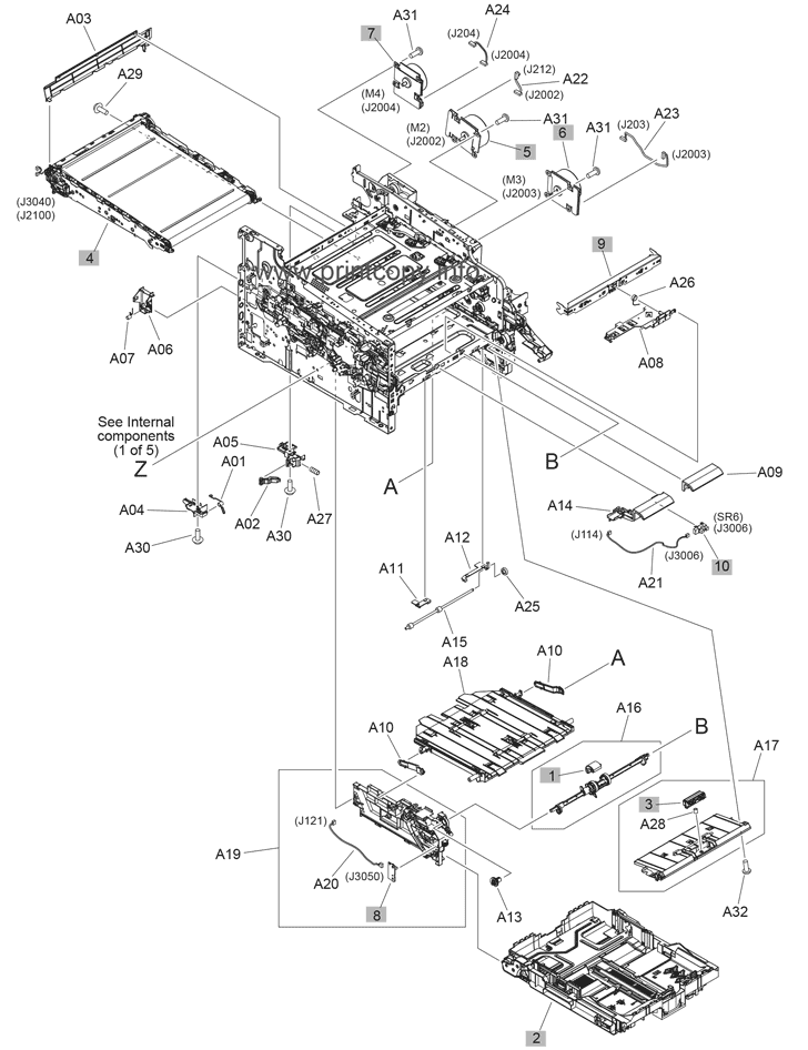 Hp laserjet m477 service manual
