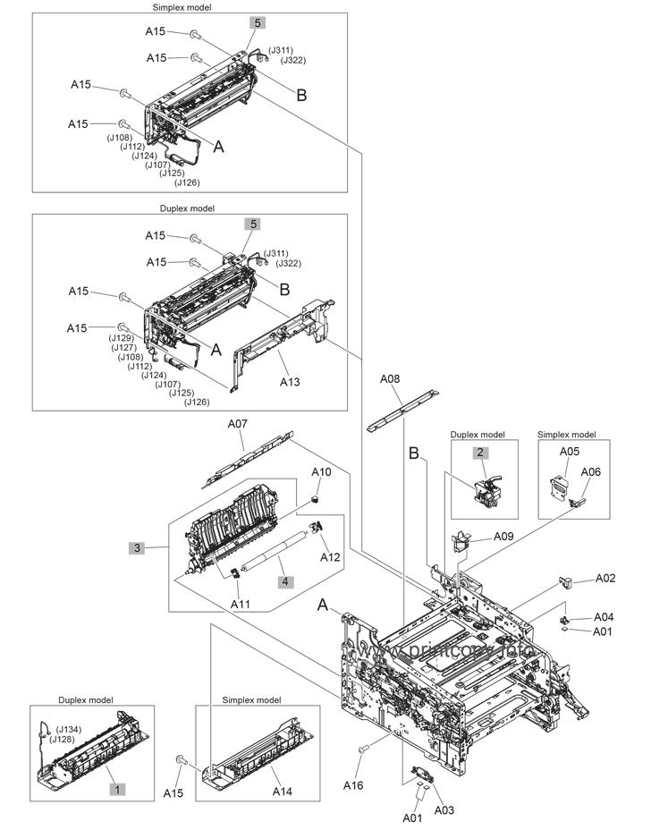 Parts Catalog > HP > LaserJet M452dn Pro Color > page 8
