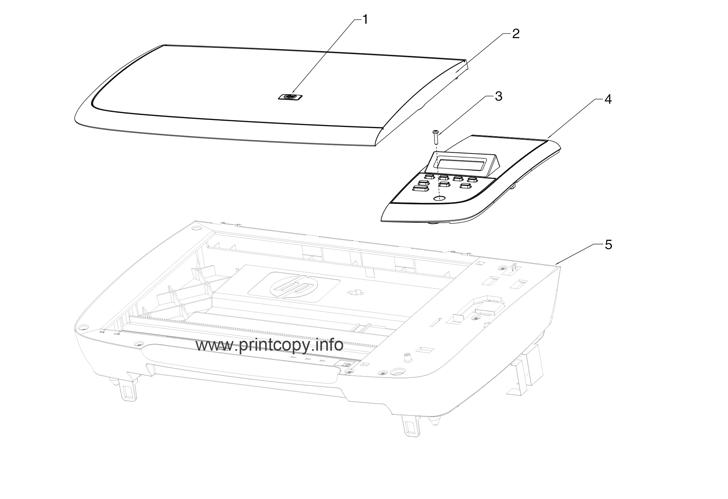 Parts Catalog > HP > LaserJet M1005 MFP > page 1