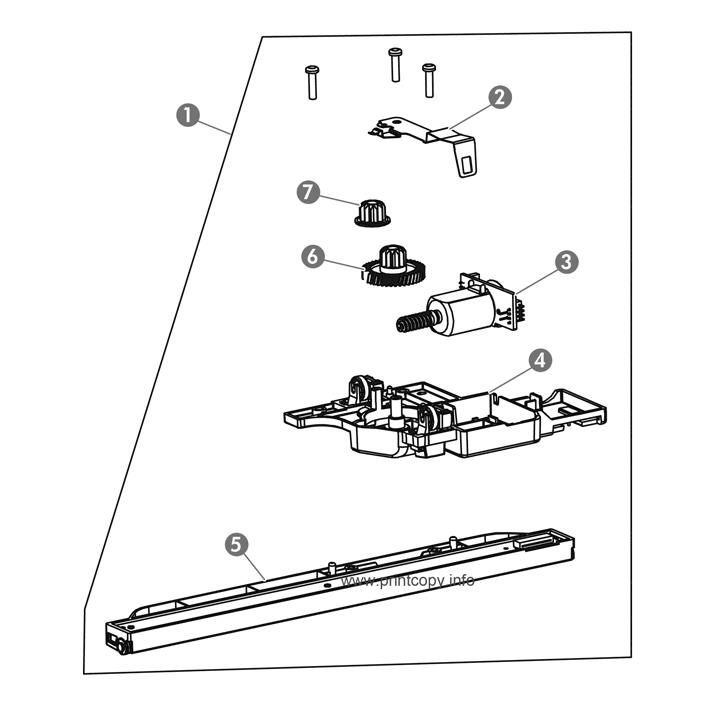 Parts Catalog > HP > LaserJet M1132 Pro MFP > page 8