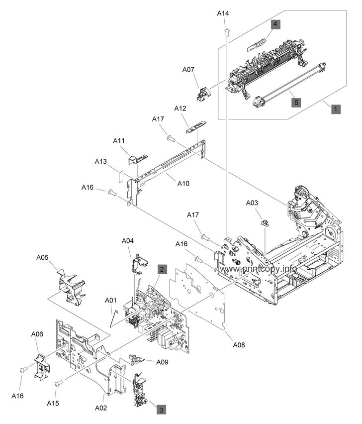 Parts Catalog > HP > LaserJet M1132 Pro MFP > page 14