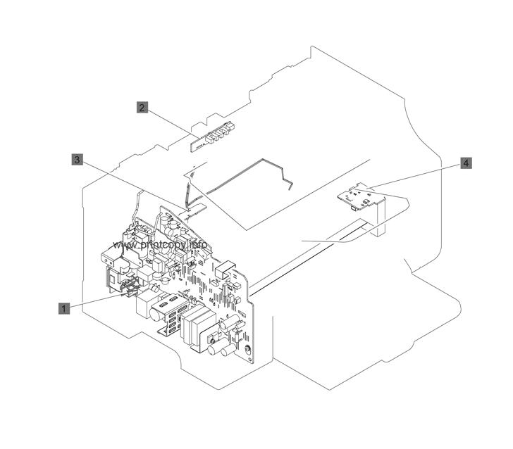 Parts Catalog > HP > LaserJet M1132 Pro MFP > page 17