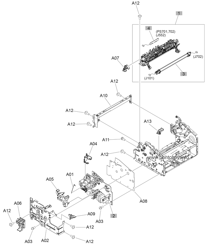Parts Catalog > HP > LaserJet Pro MFP M125a > page 2