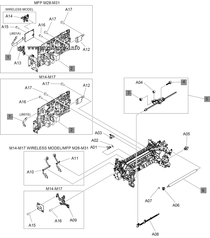 Parts Catalog > HP > LaserJet Pro M15a > page 3