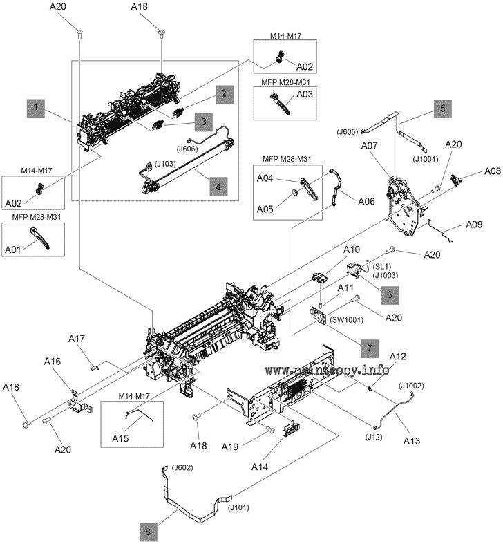 Parts Catalog > HP > LaserJet Pro M15a > page 4