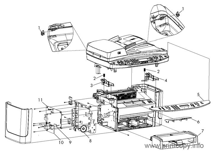 Parts Catalog > HP > LaserJet M1522 MFP > page 3