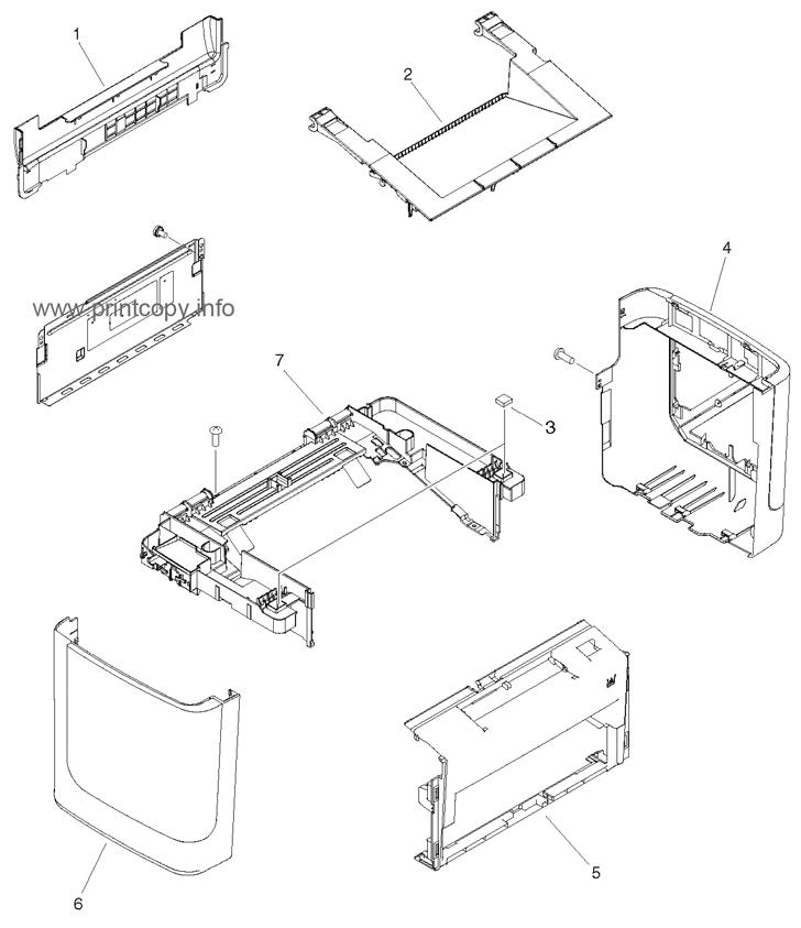 Parts Catalog > HP > LaserJet M1522 MFP > page 4