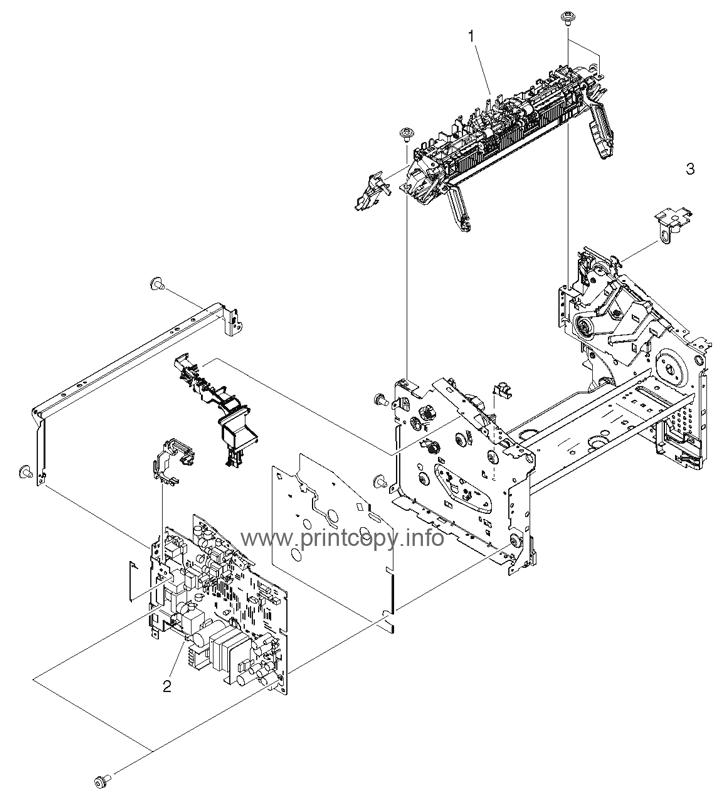 Parts Catalog > HP > LaserJet M1522 MFP > page 5