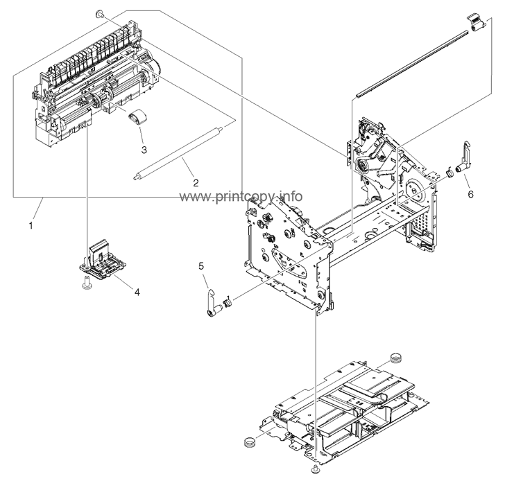 Parts Catalog > HP > LaserJet M1522 MFP > page 6