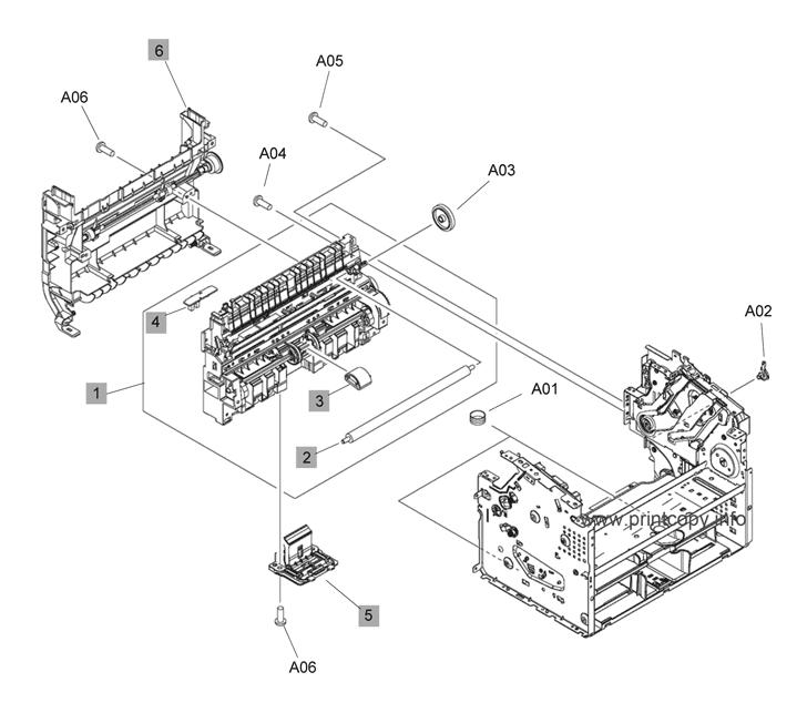 Parts Catalog > HP > LaserJet M1536 Pro MFP > page 3