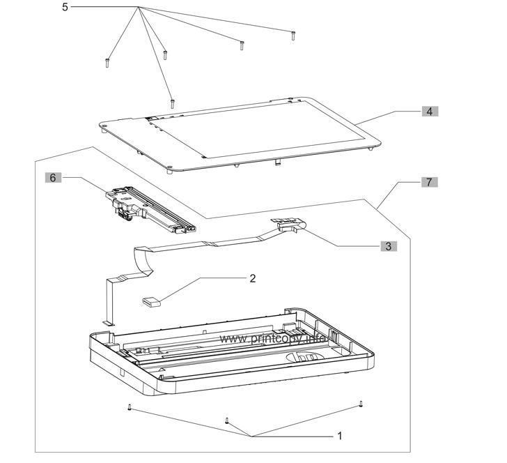 Parts Catalog > HP > Color LaserJet Pro MFP M176n > page 4
