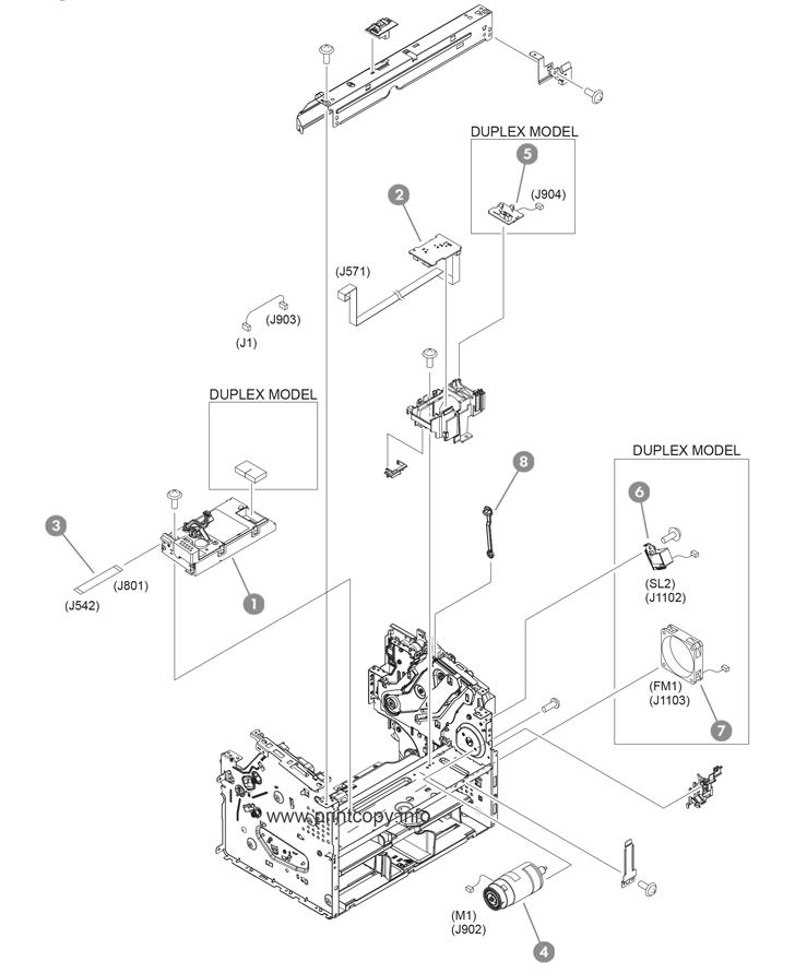Parts Catalog > HP > LaserJet M201dw Pro > page 5