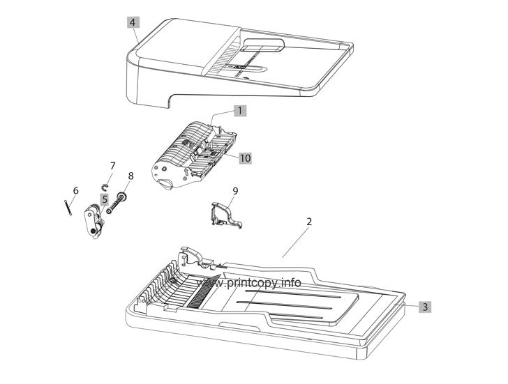 Parts Catalog > HP > LaserJet Pro MFP M225 > page 6